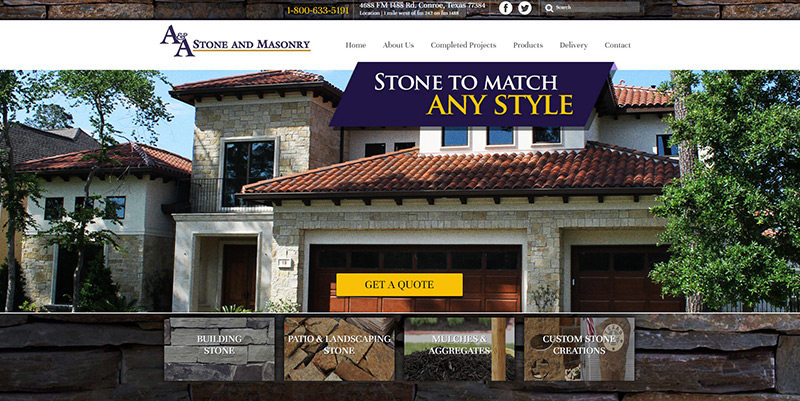 Web Design in Magnolia, Texas