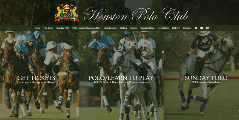 Houston Polo Club Official Website
